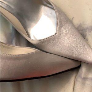 Stuart Weitzman Shoes - Stuart Weitzman Silver Heels